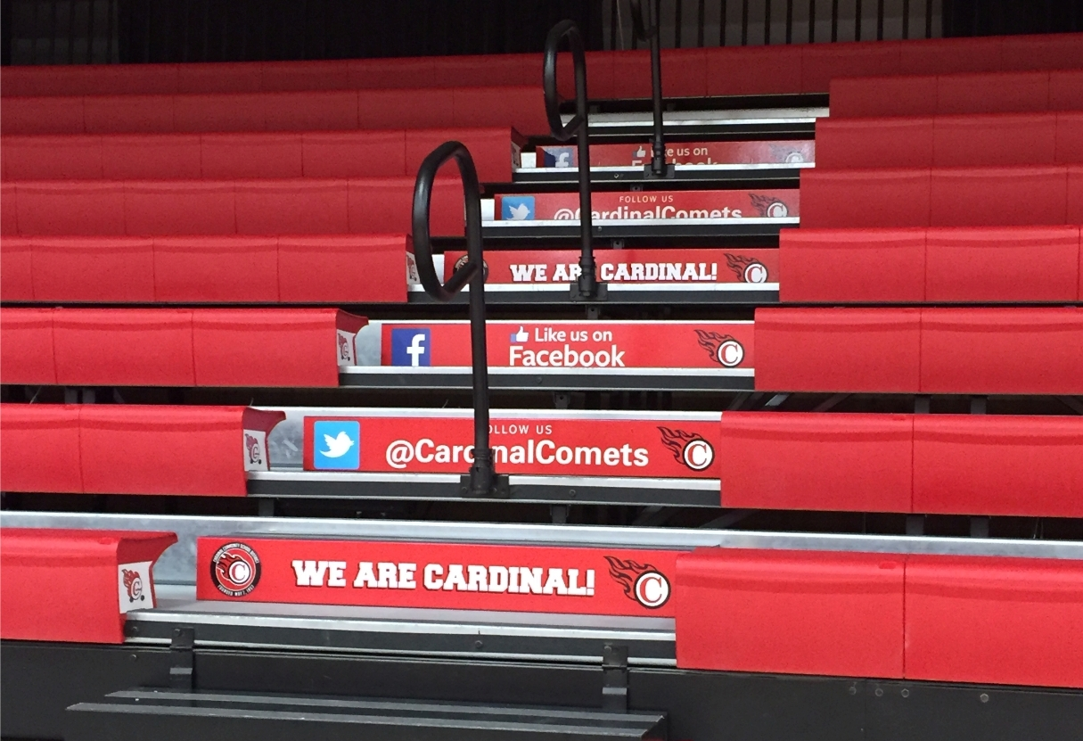 Decorating Your School's Bleachers