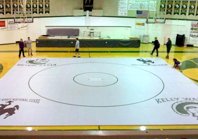 Competition Wrestling Mats High School Amp College Roll